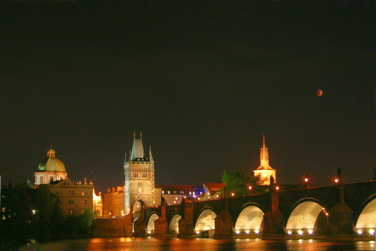 May 4, 2004 Lunar Eclipse from Prague