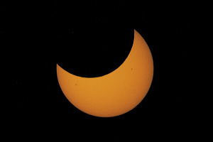 Dec 25, 2000 Partial Solar Eclipse