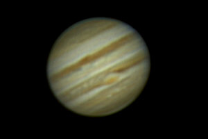 Jupiter from Webcam